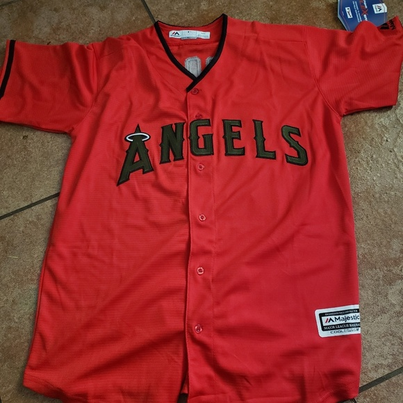 5fdab807fea Shirts | Angels Mike Trout Jersey Size Med3xl | Poshmark